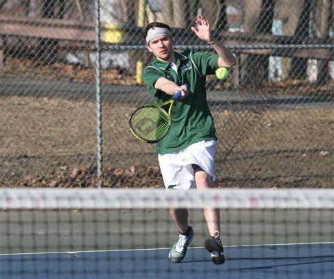 Sage men's tennis wraps season with tough 5-4 loss to Green Mountain