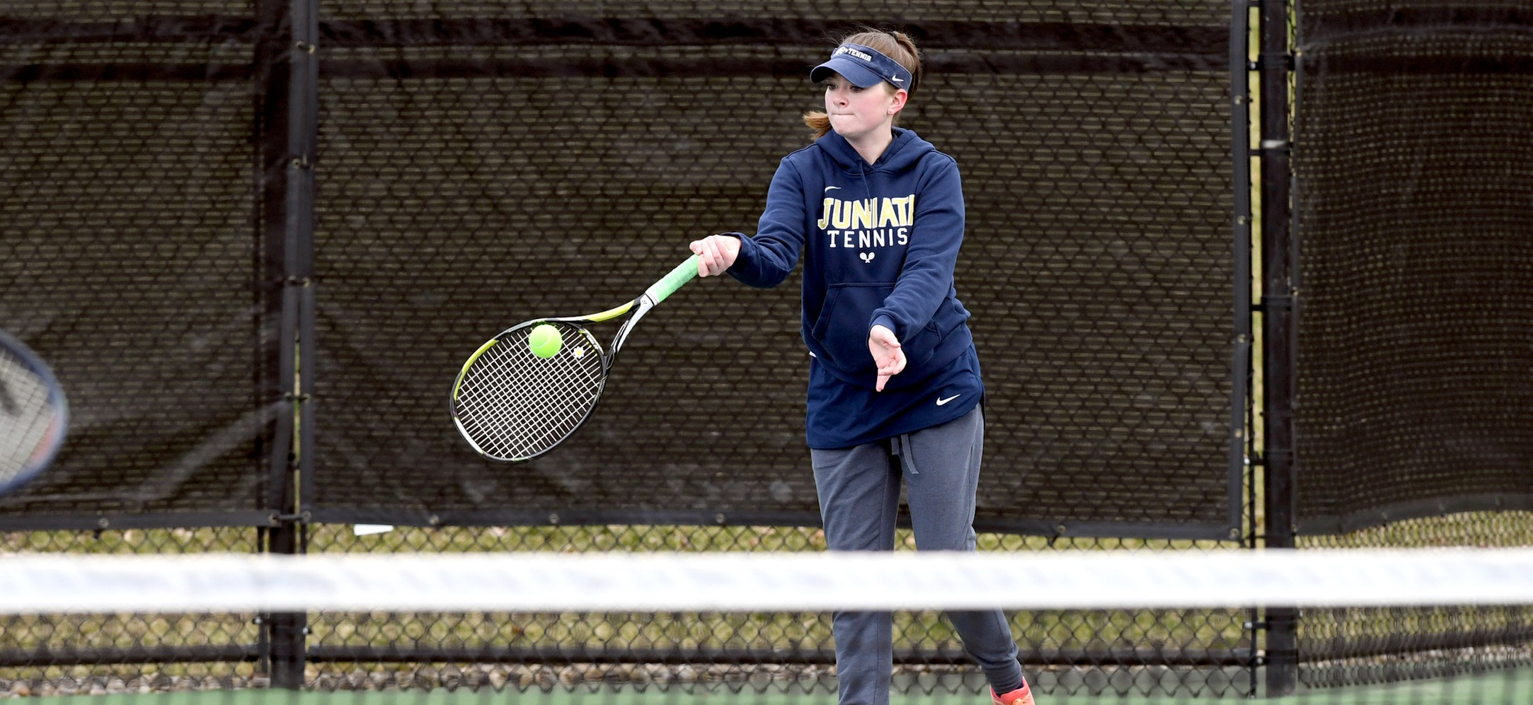 Women's Tennis Picks Up First Win of the Season