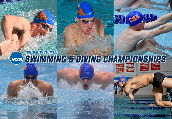 Six Men's Swimmers Heading to NCAA Championships in Indy