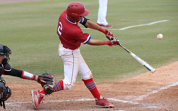 Pablo Cabrera had two hits for the Moccasins.