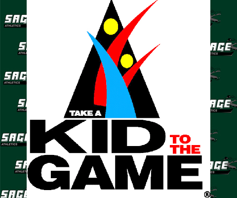 Sage to Sponsor NCAA's Take a Kid to the Game as well as T's for 3's at home basketball games