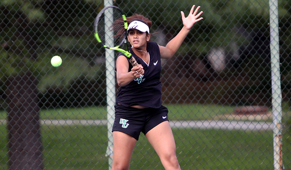 Wilmington Women's Tennis Wraps Up Fall Regular Season with 9-0 Shutout against Caldwell
