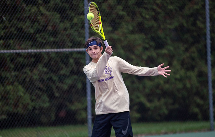 Men's Tennis Downed by Colby-Sawyer, Qualifier for Last Six NCAA Tournaments