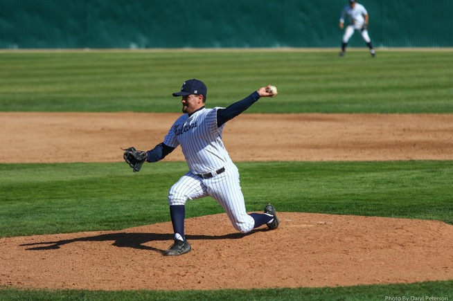 File Photo: Vincent Fuentes allowed just two runs and two hits in a no-decision against LB City
