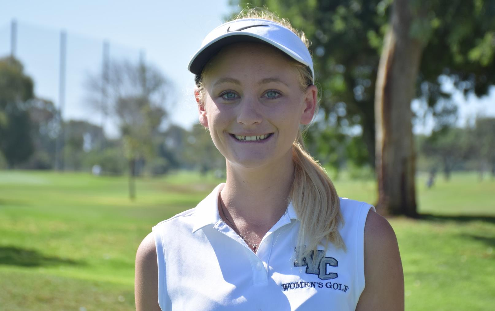 Golfer Katie Stribling takes fourth at CCCAA State Championship