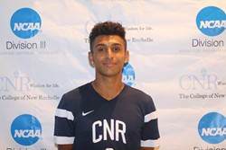 Garcia named Association of Division III Independents men's soccer Player of the Week