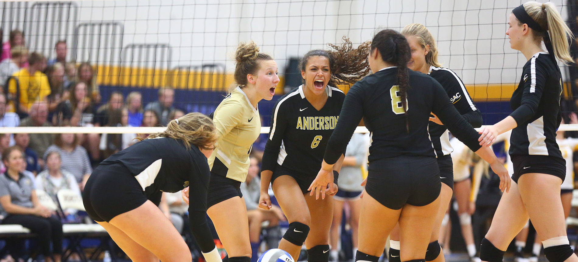 Trojans Top Carson-Newman in Five-Set Thriller