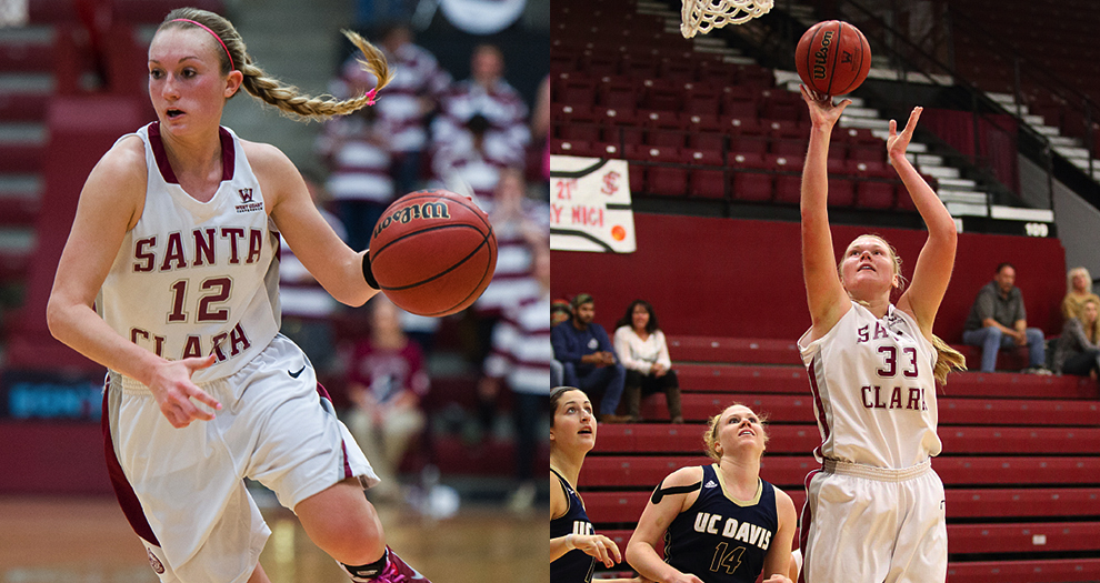Two Women's Basketball Players Named WCC All-Academic