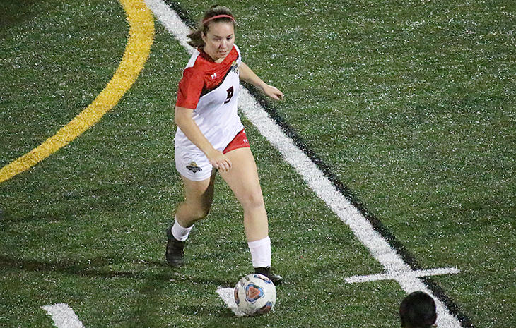 Women's Soccer Upended by Becker 3-0