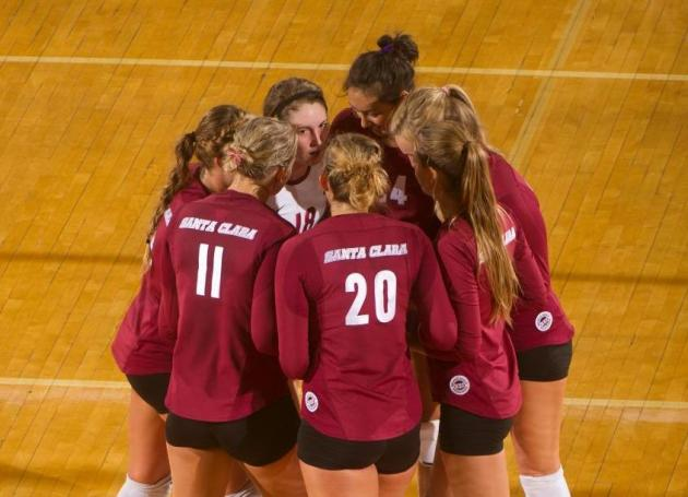 Volleyball Travels North for Two Key WCC Matches