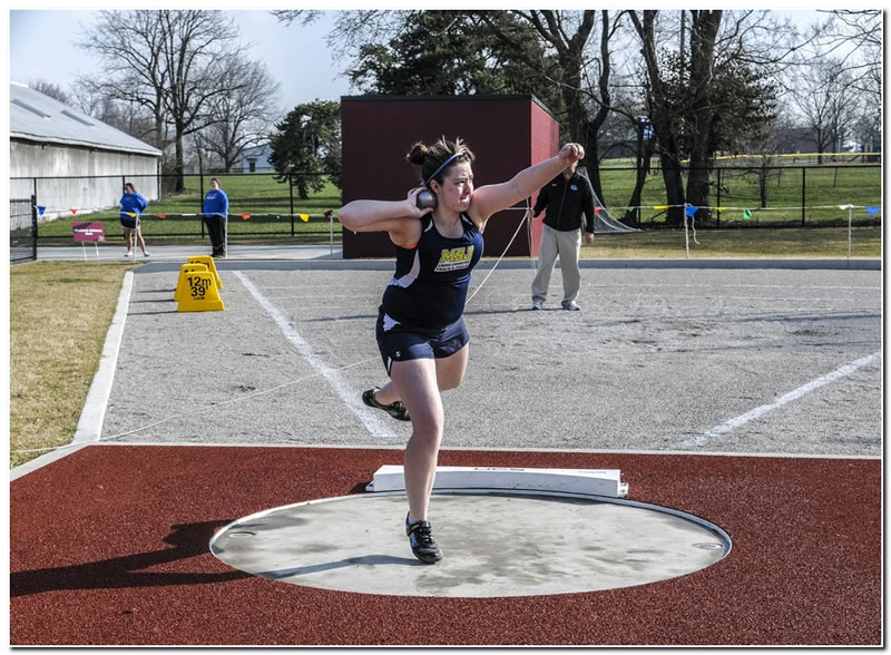 Lions' women's track & field team competes at the Hanover College Invitational