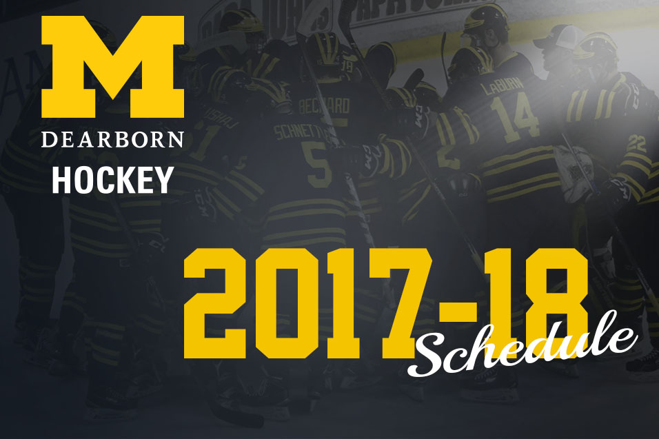 Photo for UM-Dearborn Hockey Releases 2017-18 Schedule