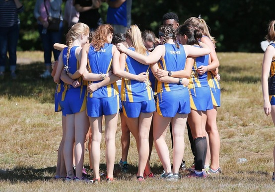 CROSS COUNTRY HOSTS 12TH ANNUAL SAINTS INVITATIONAL AT FRANKLIN PARK