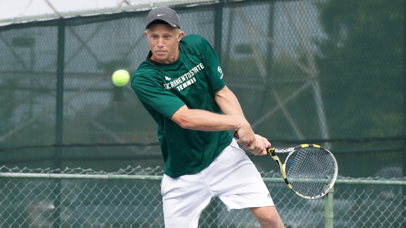MEN'S TENNIS IMPROVES TO 8-1 IN THE BIG SKY WITH 5-2 WIN OVER PORTLAND STATE