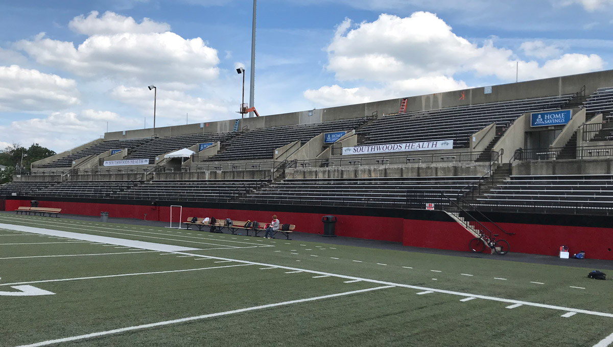 Stambaugh Stadium's East Side will be closed this fall for a major facility upgrade.