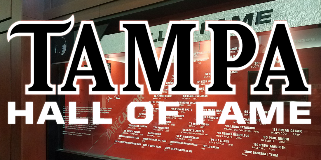 University of Tampa Athletics Announces Hall of Fame Class of 2018