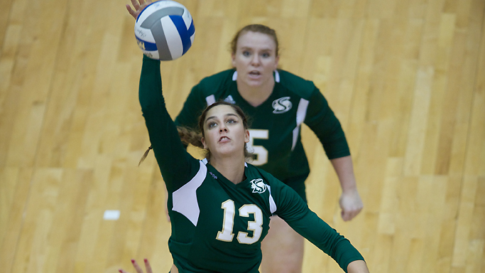 VOLLEYBALL NOW 4-4 IN CONFERENCE PLAY AFTER LOSS AT IDAHO STATE