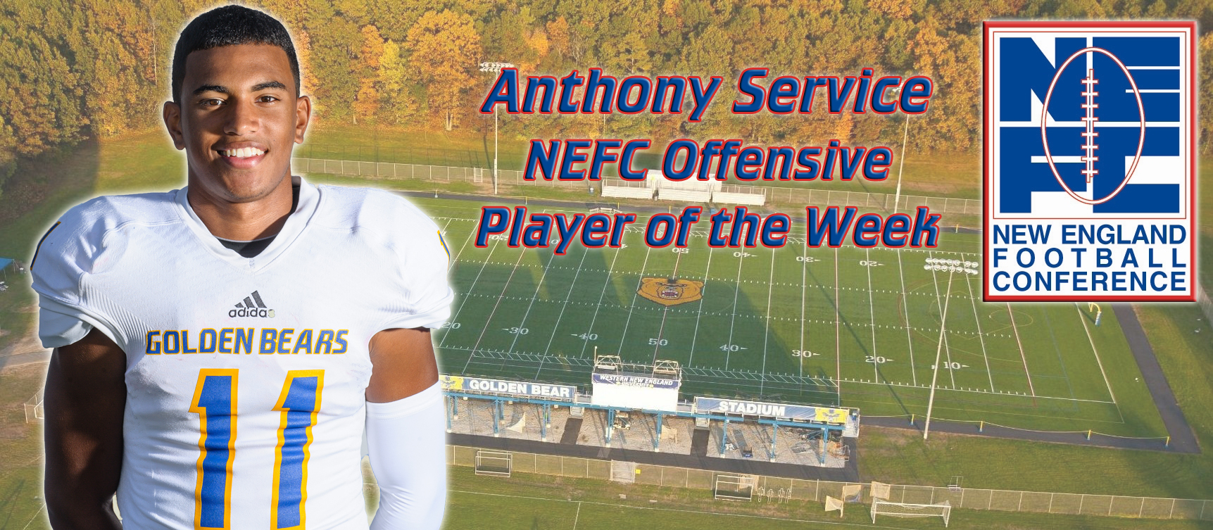 Anthony Service Recognized as NEFC Offensive Player of the Week
