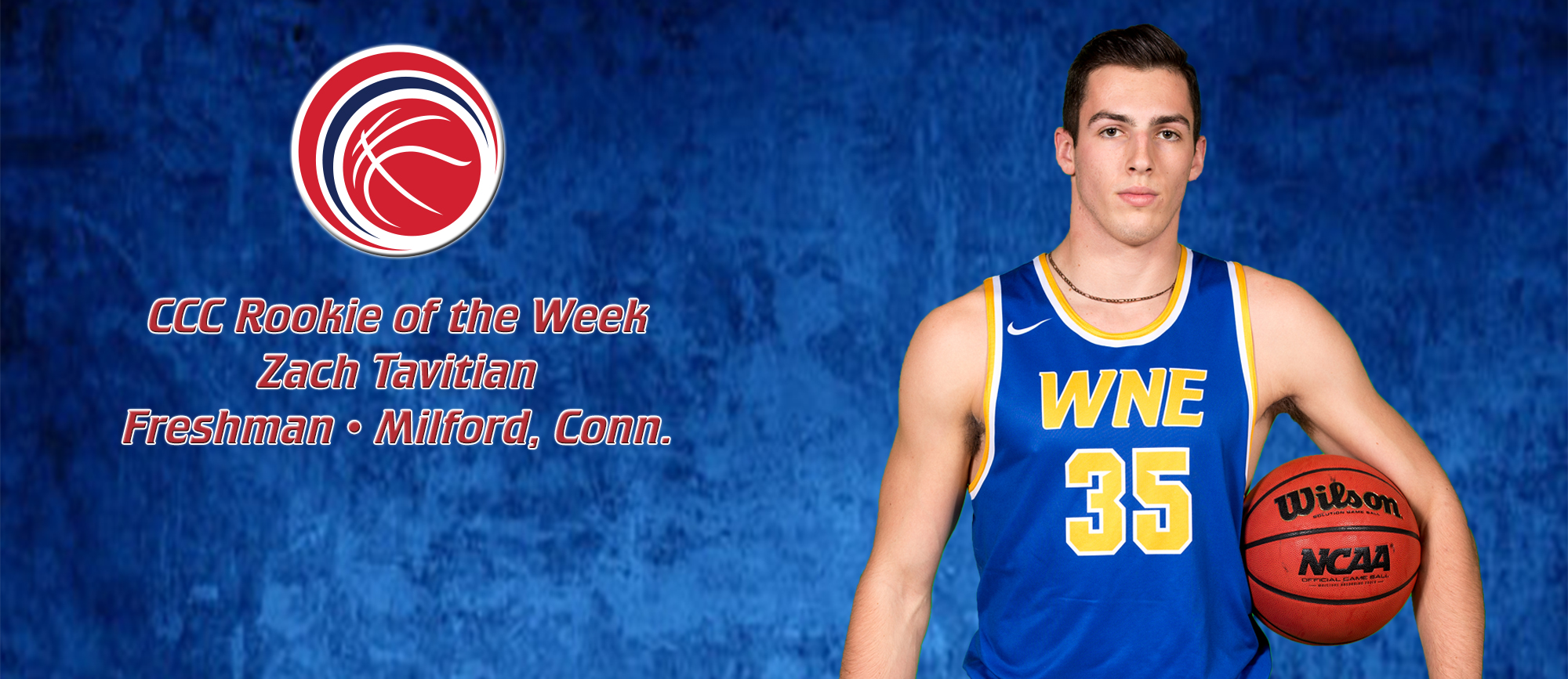Zach Tavitian Named CCC Rookie of the Week