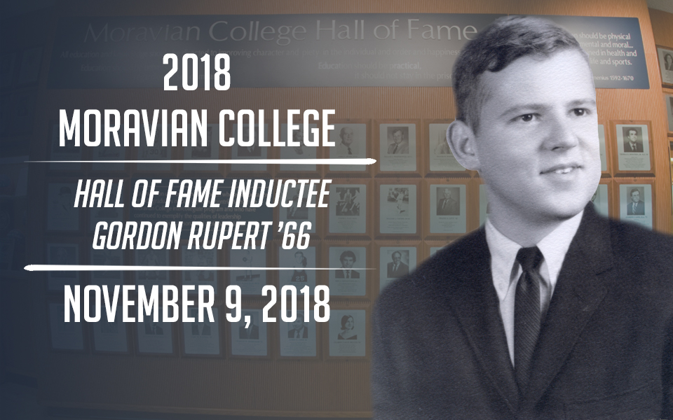 Gordon Rupert '66 - New Hall of Fame inductee