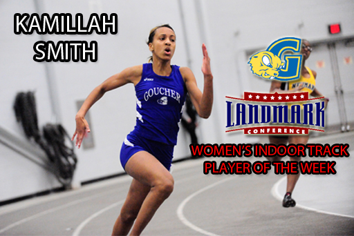 Smith Repeats as Indoor Track Player of the Week