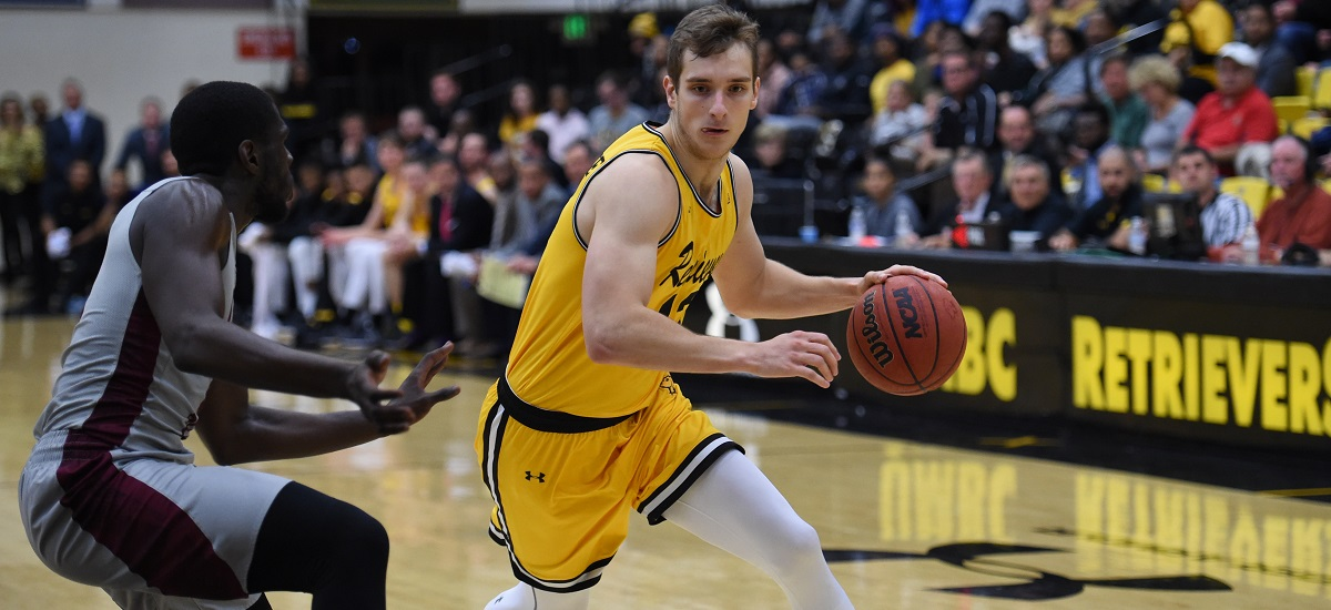 Sherburne Nets 24, Leads Balanced Effort in Retrievers' 78-68 Victory at Binghamton