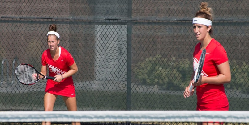 Shea Donahue and Taylor McLaughlin posted an 8-6 victory at the No. 1 Doubles spot for the Cardinals...
