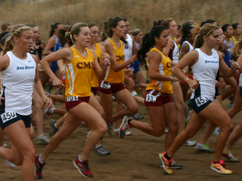 Cross Country Blazes The Course At UC Riverside