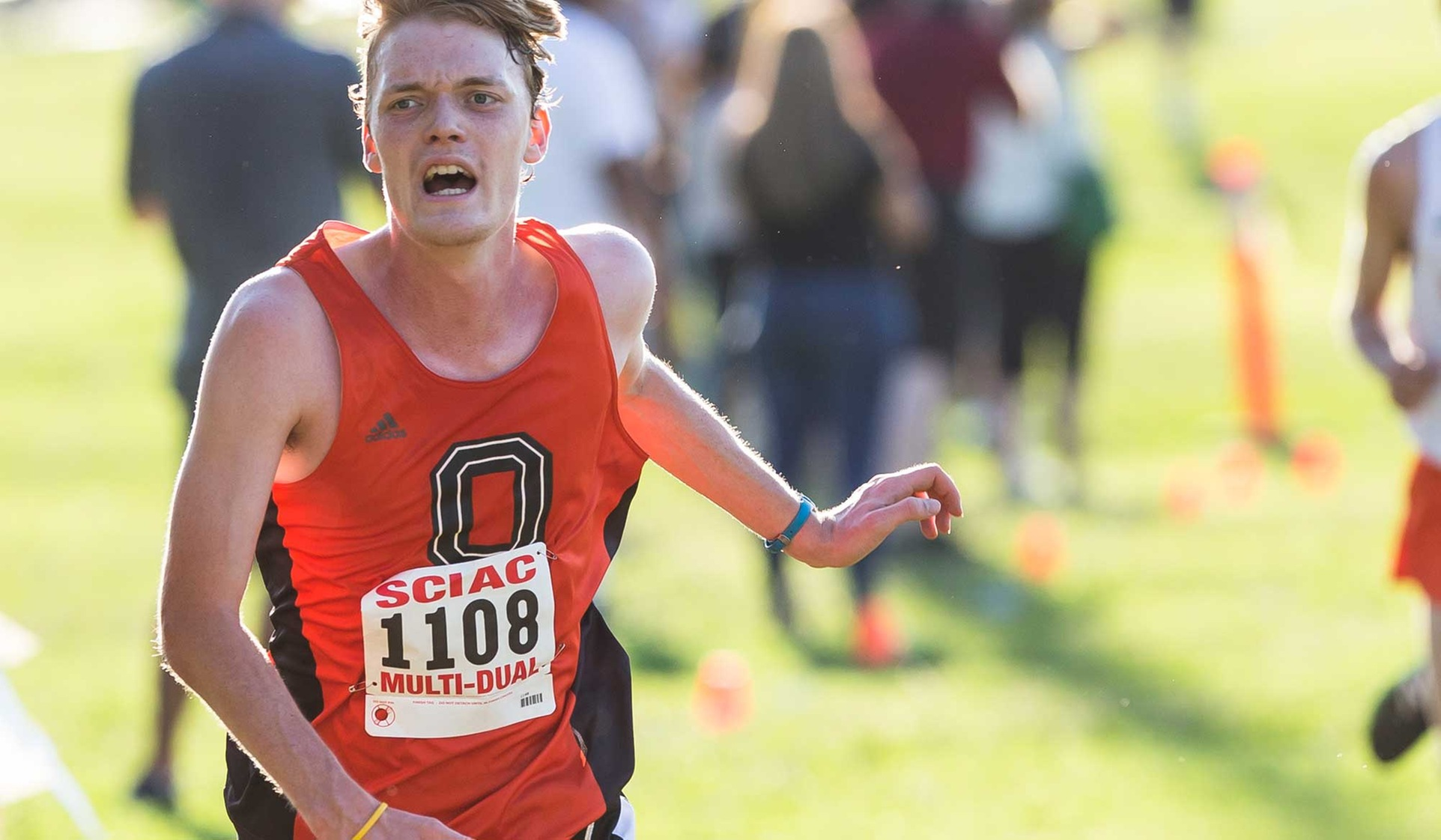 Oxy Men's XC 7th in West
