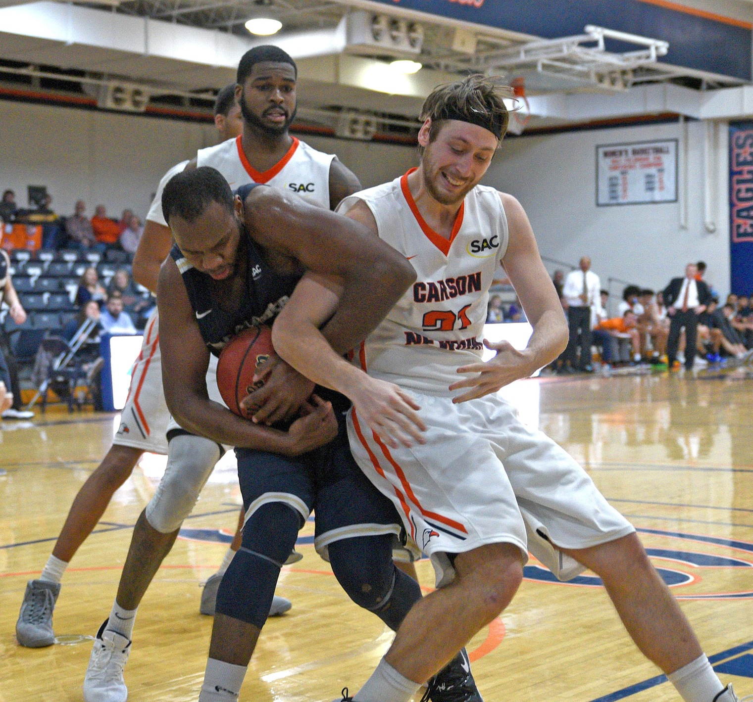 Carson-Newman, Mars Hill meet with SAC tournament position at stake