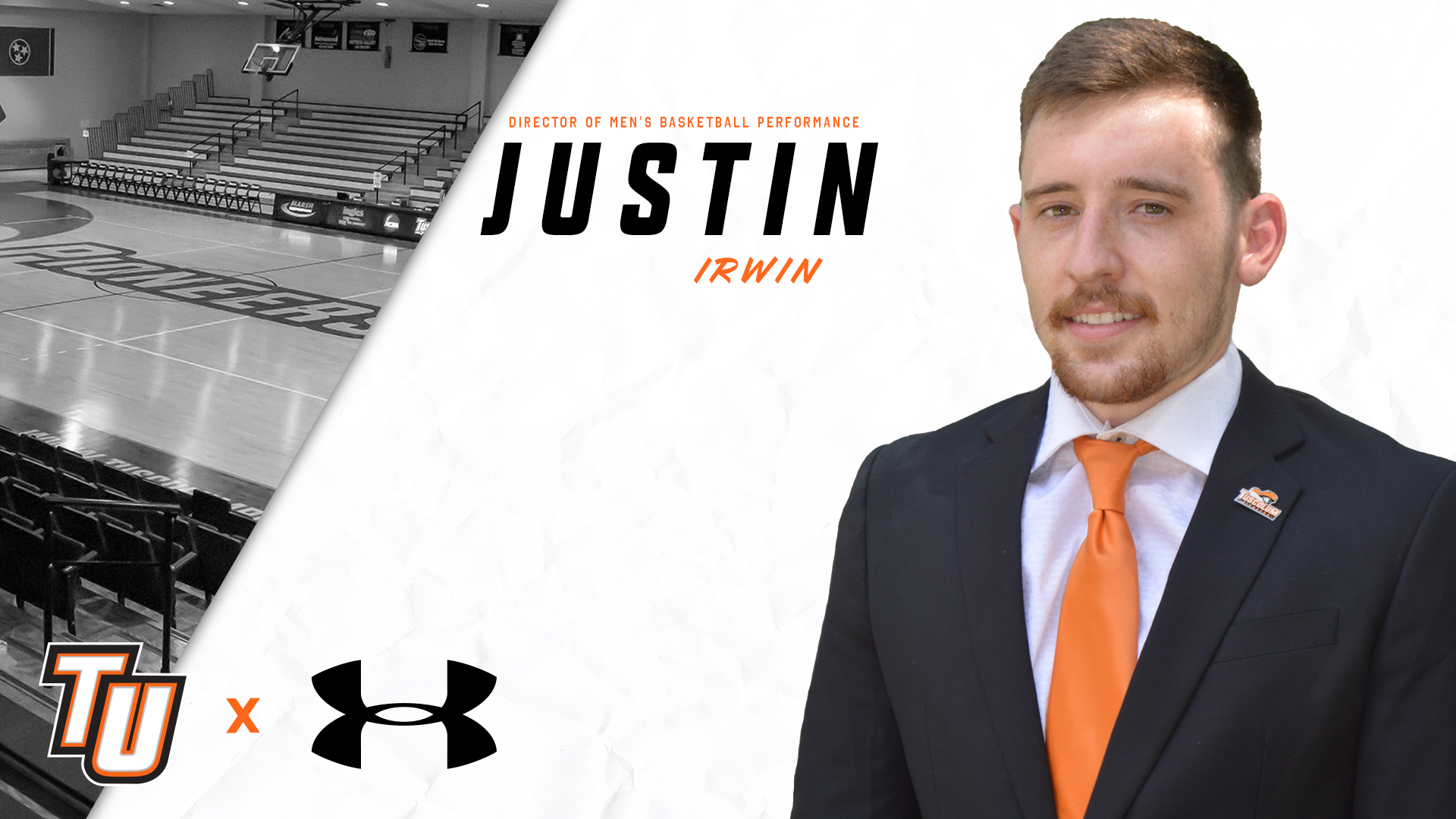 Justin Irwin named to Tusculum men's basketball staff