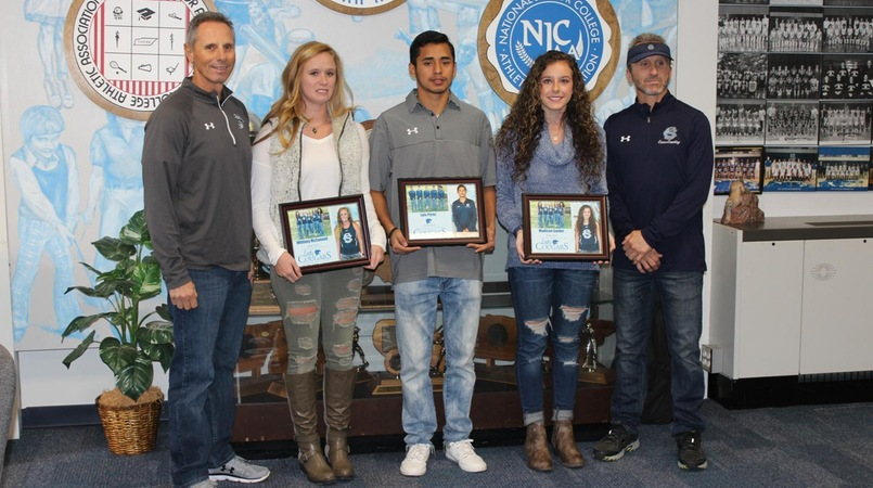 Sophomore Cross Country Runners Recognized