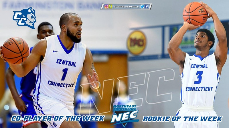 Kohl and Krishnan Earn NEC Weekly Honors
