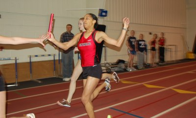 Women's Track Places Fourth at Mason Dixon Meet