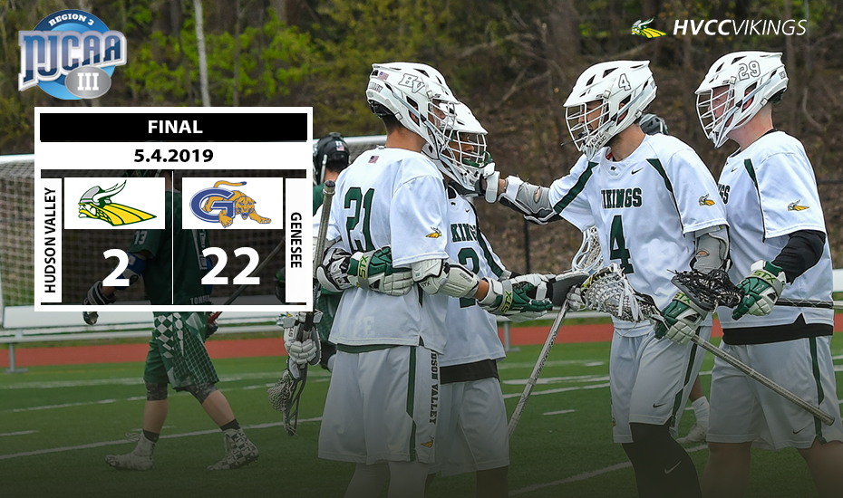 Men's Lacrosse Falls in Region 3 Championship