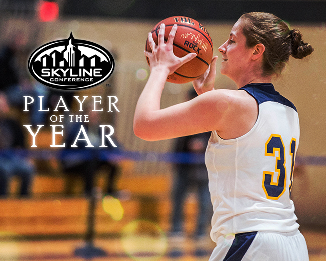 Andrea Iavarone Named Skyline Conference Player of the Year