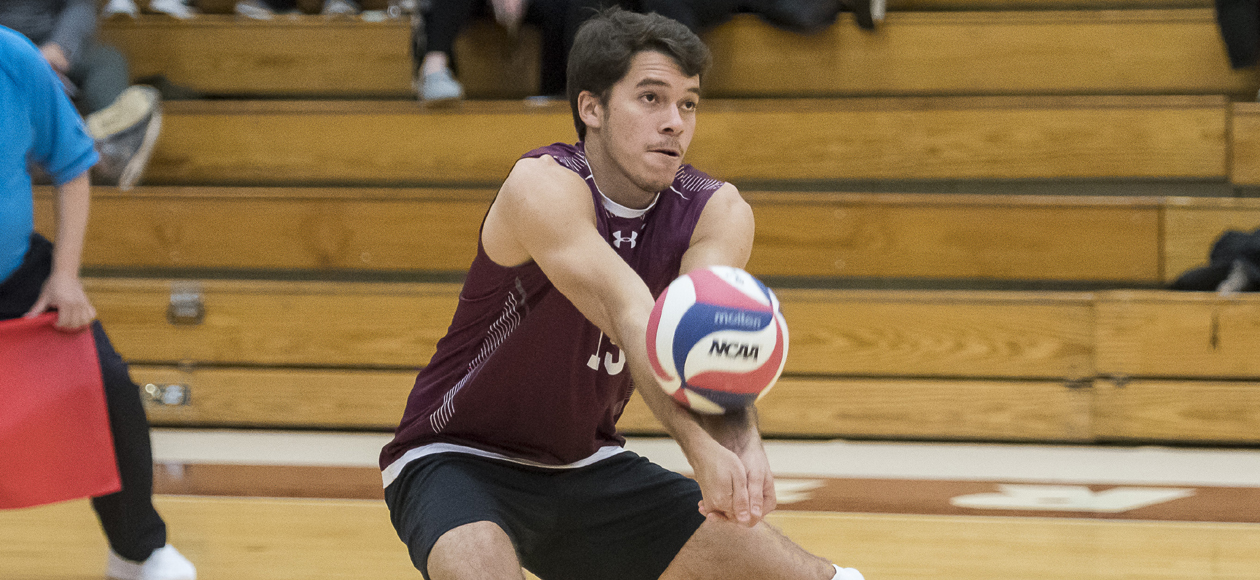 No. 1 Men's Volleyball Topples St. Joseph's and No. 13 Wentworth