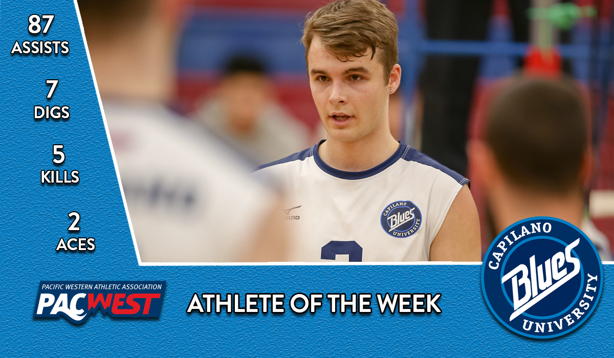 Friesen is PACWEST's Best in Week 10