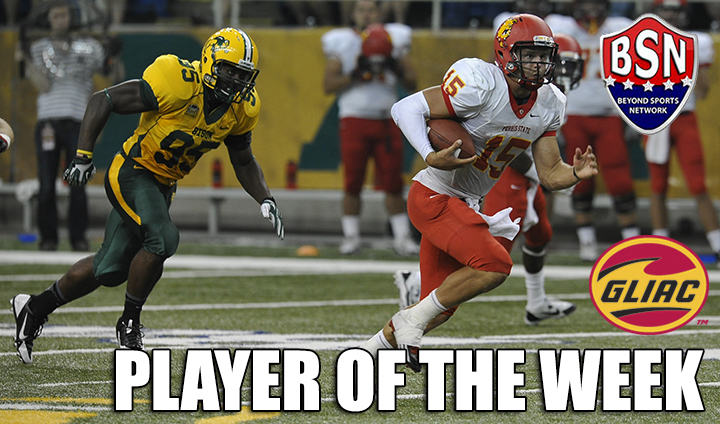 Ferris State's Vander Laan Chosen As GLIAC & National Offensive Player of the Week