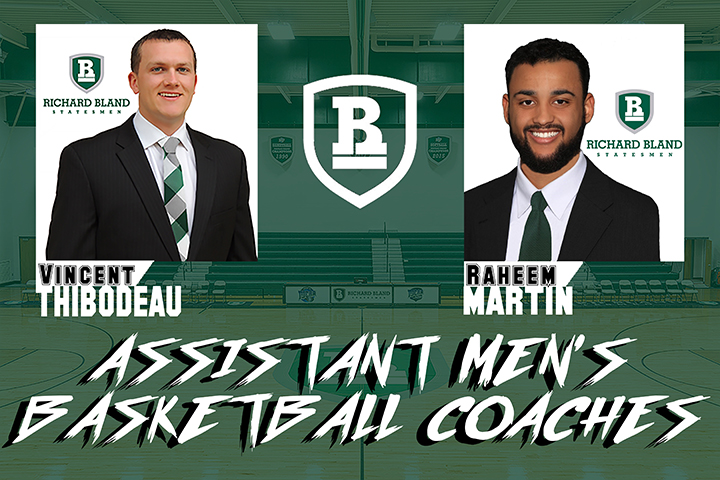 Martin & Thibodeau Named Assistant Basketball Coaches