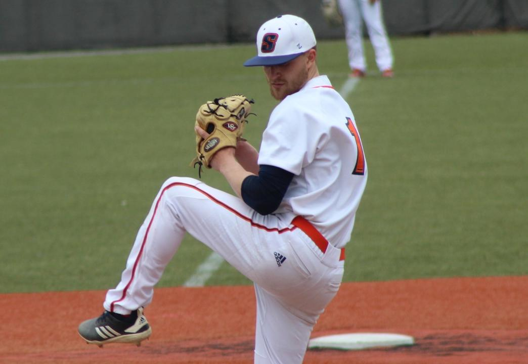 Keskinidis Fires No-Hitter in Game One Win Over Fitchburg State