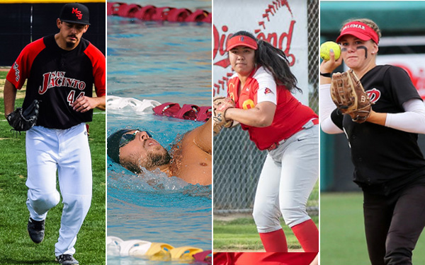 Four earn PCAC Athlete-of-the-Month for April