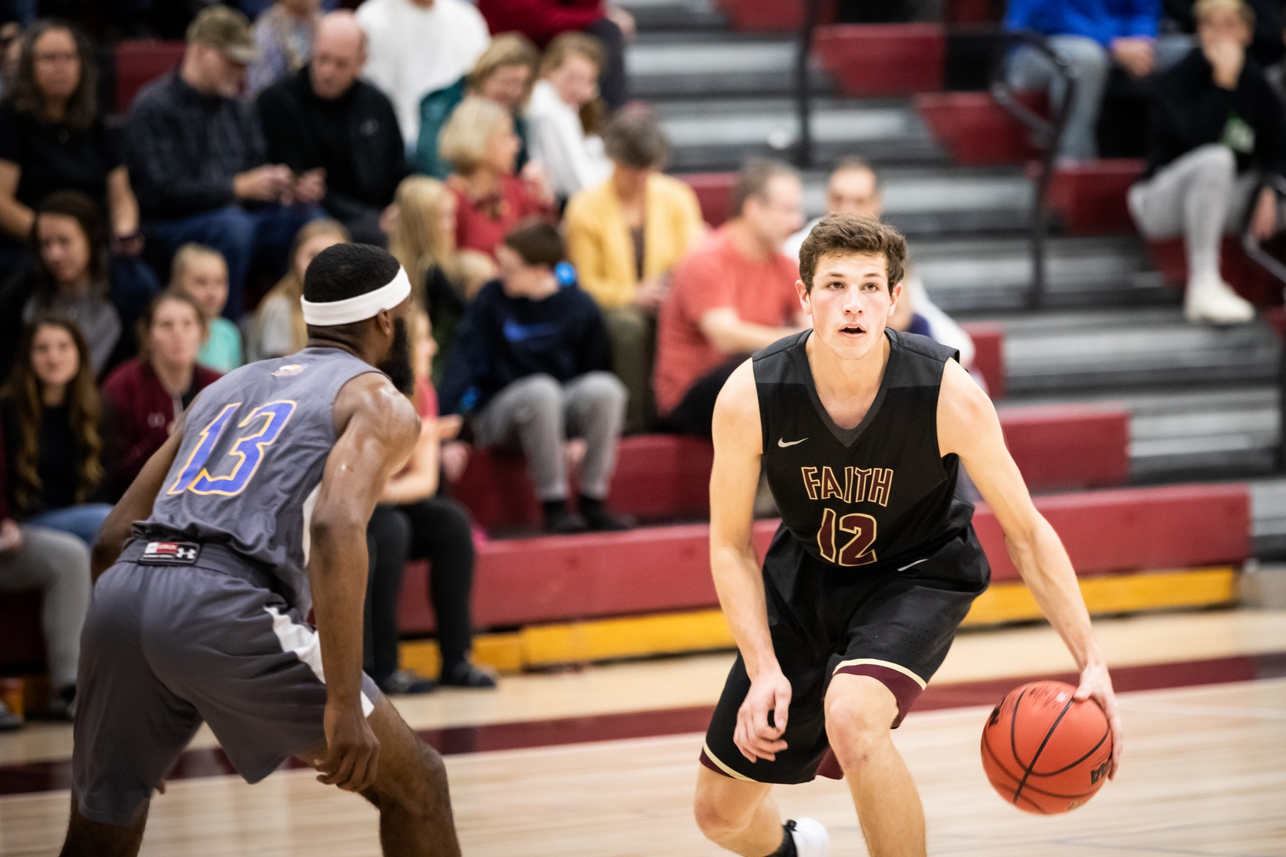 Nathan Keck's 33 points weren't enough against Kansas Christian