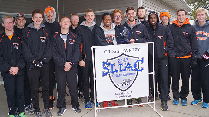 Greenville Repeats As SLIAC Men's Cross Country Champs