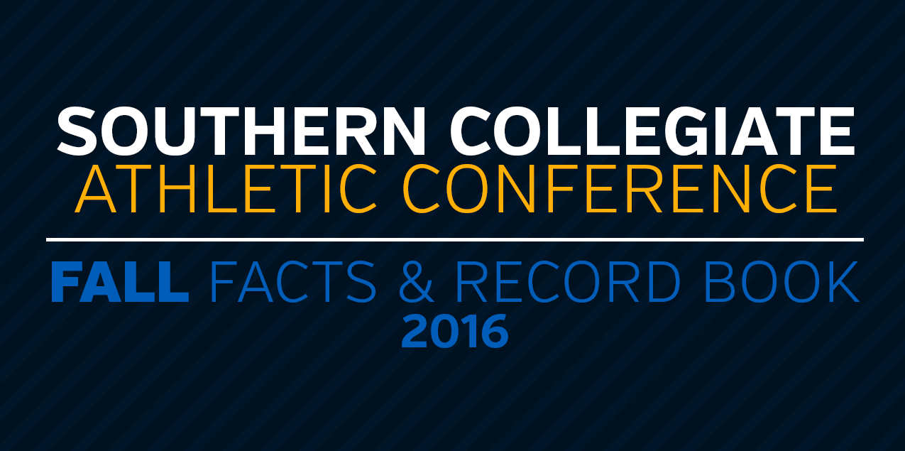 2016 SCAC Fall Record Book