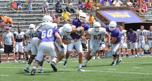 Golden Eagle defense answers the bell in second scrimmage
