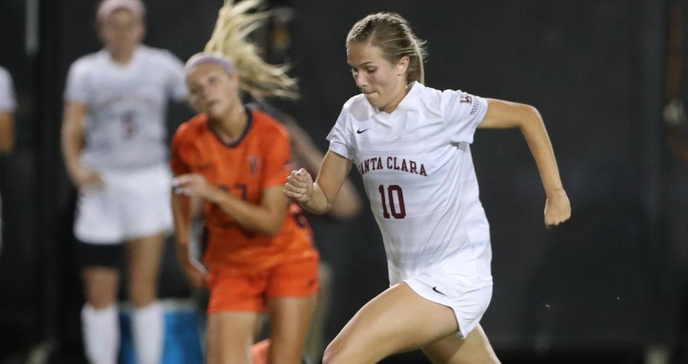 Early Goal, Strong Defense Lift Women's Soccer To 1-0 Win at Gonzaga