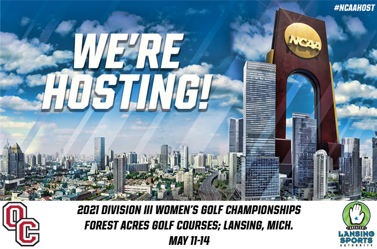 Olivet College and Greater Lansing Sports Authority to Host 2021 NCAA DIII Women's Golf Championships