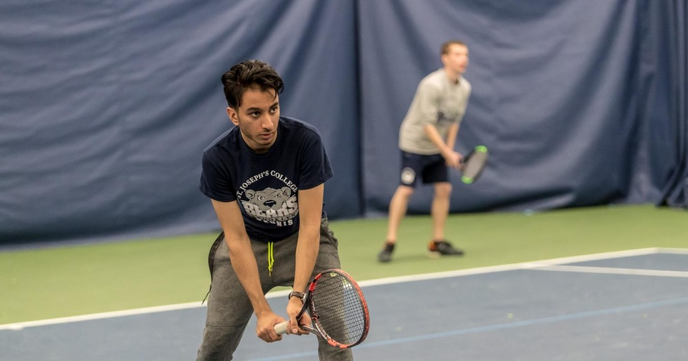 Ghai and Vaitzman Go Undefeated But Men's Tennis Nipped By York