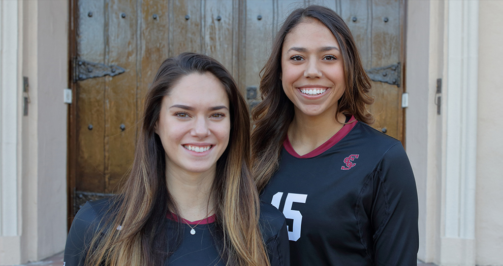 The Broncos will honor Tatiana San Juan, Taylor Odom (pictured) as well as Hailey Lindberg, who played with team from 2015-17, on Friday.